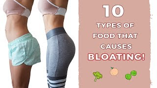 How To Reduce BLOATING | Part 2 - Foods | Get Flat Tummy!