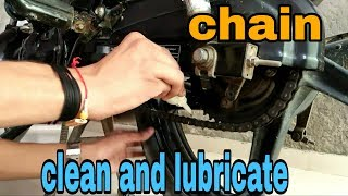 How to clean and lubricate bike chain | Before riding | Mr. Automobiler