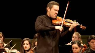 Mozart モーツァルト - Concierto para violín No. 3 (OJSG. Roberto González, violín) Primer movimiento
