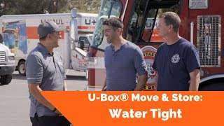 U-Box® Move & Store: Water Tight