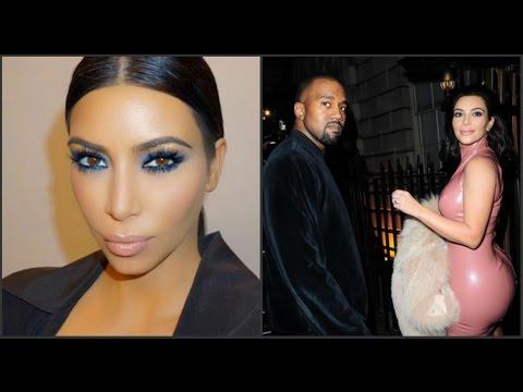 Ким Кардашьян родила второго ребенка