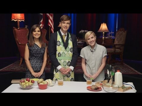 HANNAH HART does MY DRUNK KITCHEN for BRITISH NOBILITY