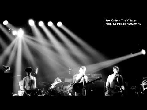 New Order - The Village live at Paris, La Palace