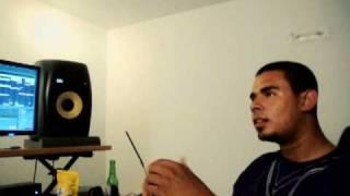 Bobby Burns & Afrojack  - GHETTOBLASTER@Afrojack's studio....