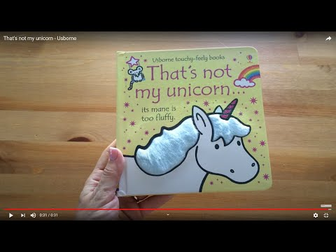 That's Not My Unicorn Touchy-Feely Book