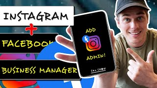 How to ADD ADMIN on Instagram Page Tutorial! (Using Facebook Business Manager 2021)