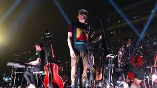 IMAGINE DRAGONS - O2 ARENA PRAGUE 2018 -  NEXT TO ME / SHOTS / I BET MY LIFE - ACOUSTIC