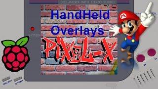retropie handheld bezels - TH-Clip