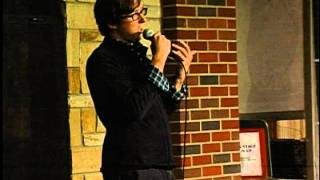 preview picture of video 'AVW Presents: Mike Witter - Athens Open Mic, 10/22/2011'