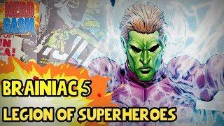 Who is Brainiac 5? History of Brainiac 5 | Supergirl Season 3 Legion of Superheroes