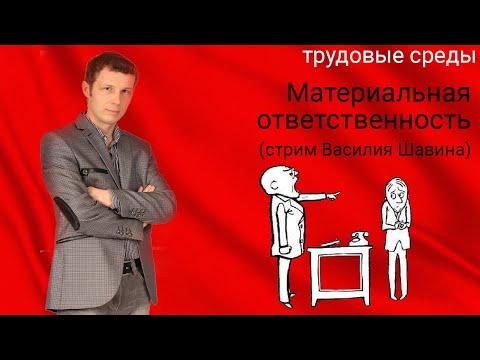Материальная ответственность (стрим Василия Шавина)