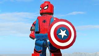 ПАУЧОК ИЗ ТРЕЙЛЕРА - LEGO Marvel Super Heroes