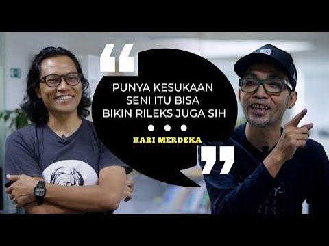 Hari Prast Bicara Komik Blusukan Presiden Jokowi dan Inspirasi Tintin