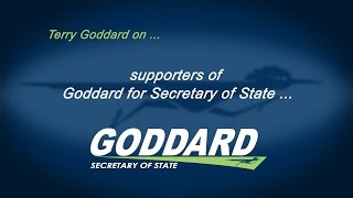 Goddard for Secretary of State: Community Endorsements