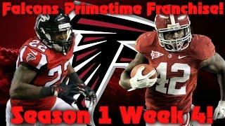 Madden 17 Falcons Franchise | Primetime League Season 2 Week 4!! Elite Defense?!