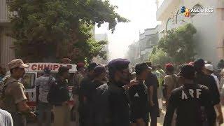 Un avion cu circa 100 de persoane la bord s-a prăbuşit în Pakistan