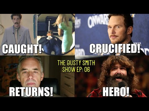 Rudy Giuliani Caught!/Chris Pratt Crucified!/Jordan Peterson Returns!/Mick Foley Hero!