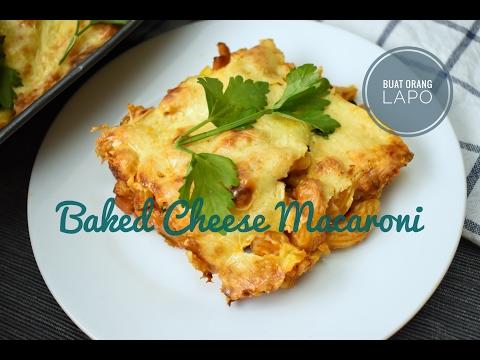 Resepi Makaroni Cheese Bakar Azie Kitchen