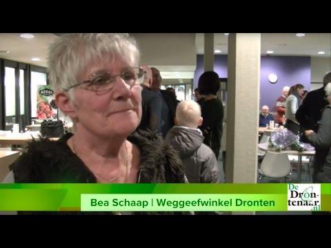 Weggeefwinkel van Bea Schaap stopt ermee en geeft € 5.000 terug aan gemeente Dronten