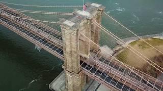 Brooklyn Bridge via Drone