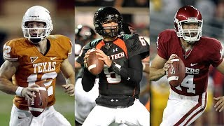 The 2008 Big 12 South Title Race