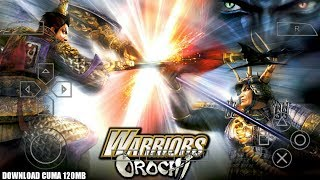 cara cheat warrior orochi ppsspp android