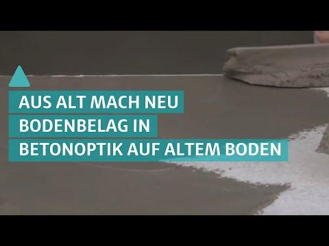 Trend: neuer Bodenbelag auf altem Boden – So wirkt ein Bodenbelag in Betonoptik