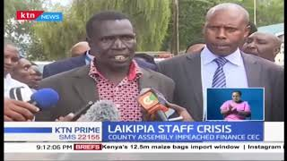 LAIKIPIA STAFF CRISIS: county workers threaten to down tools
