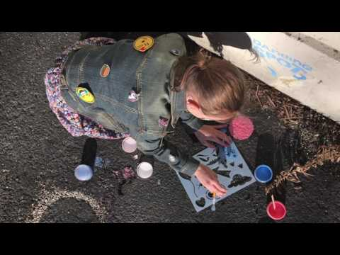 Youtube Video for Sidewalk Chalk Tagging Set