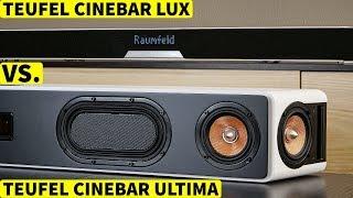 Teufel CINEBAR ULTIMA Test (vs. CINEBAR LUX Soundbar) | CH3 Review Klangtest Deutsch
