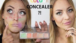 Farbiger Concealer- Wie benutzen? Für Anfänger // Color Corrector for Beginner