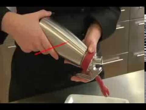 iSi Gourmet Whip Sahnespender Test - perfekte Sahne in wenigen Sekunden