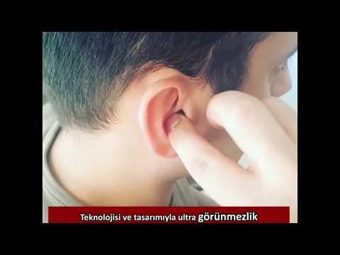 Ultra Görünmezlik Sağlayan Duymer Kulak İçi İşitme Cihazları
