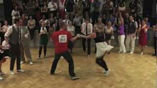 Ben and Ash - Fast Final at London Swing Festival 2012