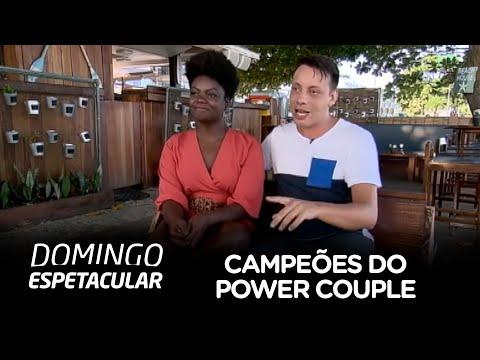 c2772a664e Campeões do Power Couple Brasil dão dica para os novatos