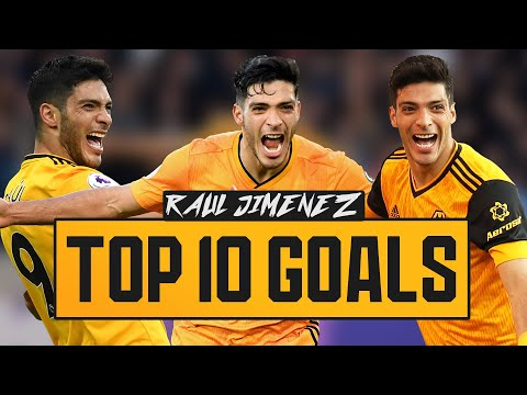 RAUL JIMENEZ TOP 10 GOALS FOR WOLVES! | #RAUL2024