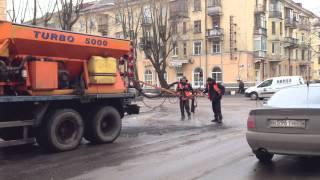 Сырой ремонт дорог в Северодвинске