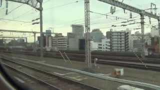 HD車窓1N700系山陽新幹線のぞみ/博多→新大阪