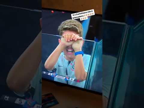 Reação de Malcom, ex-Corinthians, depois da classificação à final
