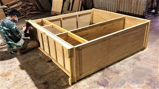 Awesome Projects Woodworking Design Furniture // Ingenious Woodworking Workers At Another Level
