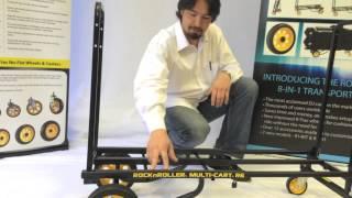 "RocknRoller Multi-Cart R6RT ""Mini"" Product Overview"