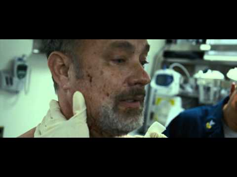 Tom Hanks' acting skills are fully shown in the ending of Captain Phillips.