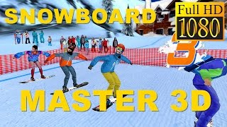 Snowboard Master 3D Game Review 1080P Official Doodle Mobile Ltd.