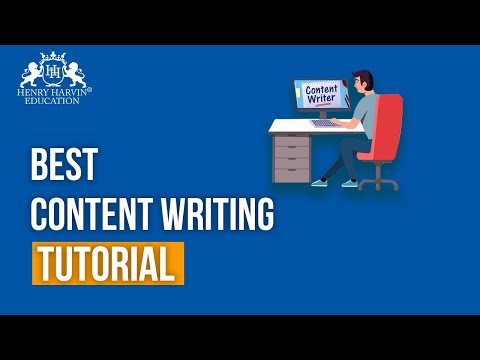 Free Content Writing Tutorial for Beginners | Online Content Writing Training by Henry Harvin
