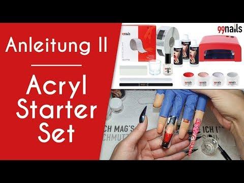 acryl nägel set Anleitung | acrylnägel selber machen | Vortstellung acrylnägel starterset | Tutorial