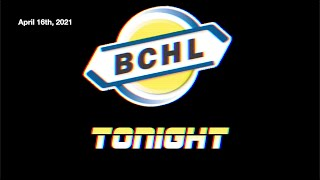 BCHL Tonight – April 16th, 2021