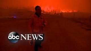 Urgent evacuations as wildfires rage in Colorado l GMA