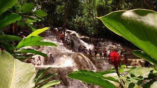 Ausflug zu den Dunn's RIver Falls auf Jamaika