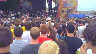 Anti flag live warped tour 7 17 Smartest Bomb + 1 Trillion Dollars
