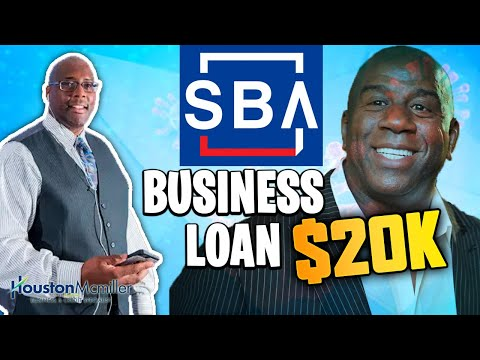 Fast Business Loans 2020 | How To Get $20k Majic Johnson SBA Business Loan?